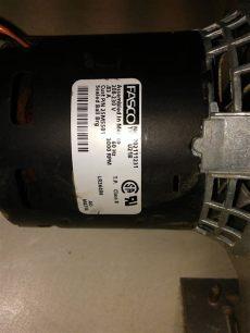fasco type u21b class b fasco 702111231 type u21b 208 230 volt 3000 rpm class b 25m5501 blower motor great lakes equipment