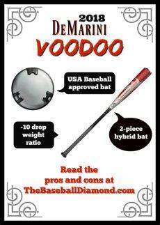 2018 demarini voodoo usa bat review the 2018 demarini voodoo 10 usa baseball bat review