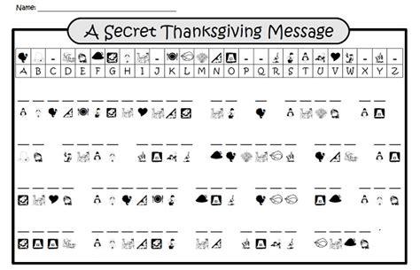 secret thanksgiving message