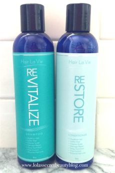 hair la vie shoo and conditioner lola s secret hair la vie revitalize shoo and restore conditioner for healthy