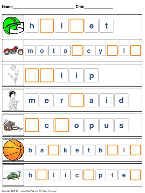 Worksheets To Help Spelling.html