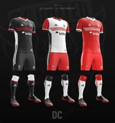 kit dls ea sport 2018 mls kits redesigned 2017 on behance