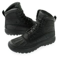 nike acg woodside 2 mens boots nike acg woodside ii 2 black waterproof leather boots new mens authentic ebay