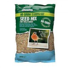 non germinating wild bird food 20kg nogrow gardman no grow non germinating bird seed mix feeder table mi 163 19 85