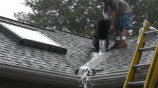 roof valley water diverter tests www roofvalleywat doovi - Roof Valley Rain Diverter Home Depot