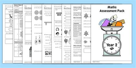year 2 maths assessment pack term 1 teacher