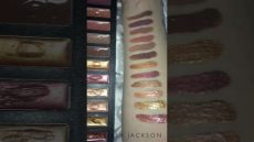 lip explosion palette by w7 swatches - W7 Lip Explosion Palette Review