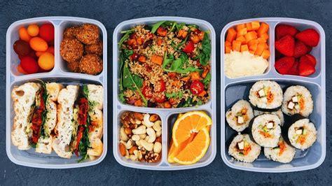 vegan school lunch ideas 2 healthy easy delicious