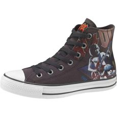 ac dc chuck taylor converse converse chuck all ac dc hi top sneakers musician s friend