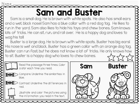 2nd Grade Reading Worksheets Compare And Contrast.html