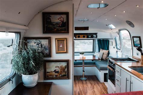 tiny home tour diy remodel 72 airstream trailer