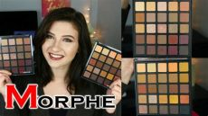 morphe 25a swatches morphe 25a 25b review swatches and halo eye tutorial
