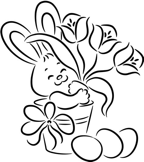 16 easter bunny coloring pages disney coloring pages