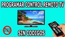 como programar un control universal onn sin codigo como programar remoto universal de tv codigos