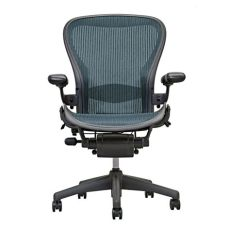 herman miller aeron open box fully loaded chairs with headrest ebay - Herman Miller Chair Parts Ebay