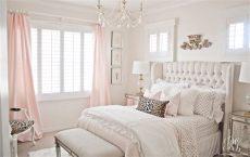 pink and gold s bedroom makeover randi garrett design - Light Pink And Gold Bedroom Ideas