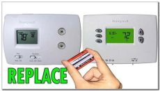 comfortnet thermostat battery power honeywell thermostat not working after battery change jonathanrashad