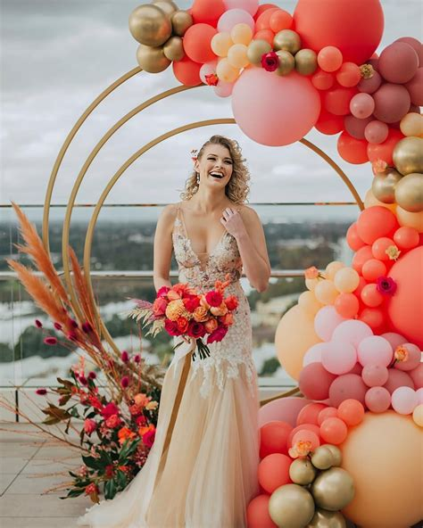 perth balloon garlands instagram love pic dress light