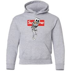supreme hoodie marshmello limited edition supreme youth pullover hoodie the gifts