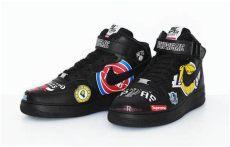 supreme air force 1 nba black supreme nba nike air 1 mid black snkrs sneaker bar detroit