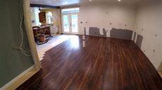 vinyl plank flooring kitchen pictures diy kitchen remodel 11 vinyl plank flooring
