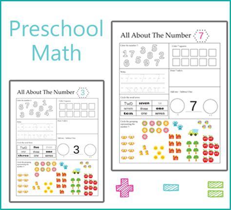 preschool math numbers beautiful home