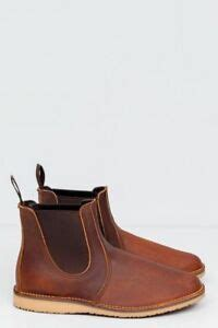 wing weekender chelsea boot size 10 style 3311 copper tough made usa ebay - Red Wing Weekender Chelsea Sizing