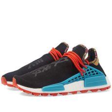 pharrell williams solarhu nmd shoes stockx adidas by pharrell williams solarhu nmd black blue orange end