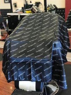 bape barber cape pin on supply
