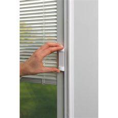 add on blinds between glass odl impact resistant blinds between low e glass 24 quot x 82 quot frame kit zabitat