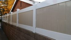vinyl fence height extensions vinyl wall toppers wall extensions custom height and design