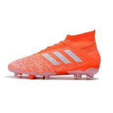 botas de futbol adidas predator 19 1 fg hombre naranja blanco - Adidas Botas De Futbol Hombre