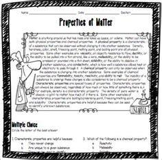 classifying matter mixtures pure substances worksheet high school