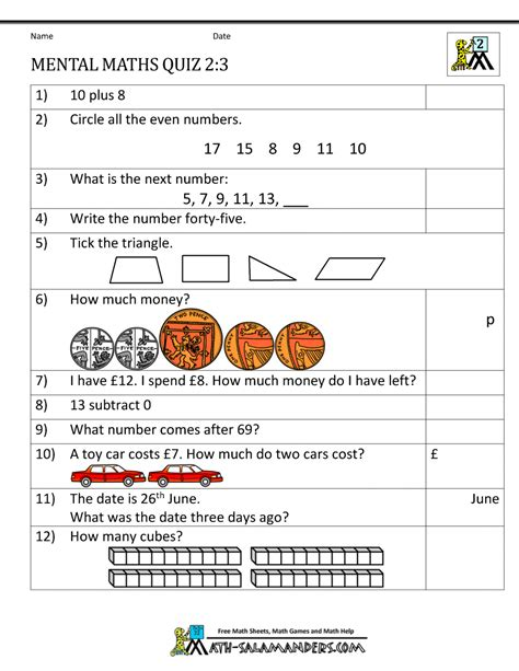 Year 2 Maths Assessment Worksheets.html