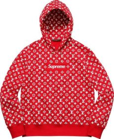 lv x supreme hoodie in prestwich manchester gumtree - Hoodie Supreme Red