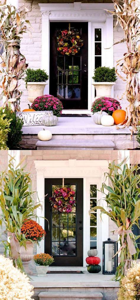 25 splendid front door diy fall decorations page