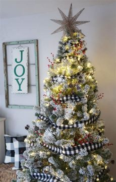 give your tree a flocking this christmas vancouver flocked buffalo check tree tree decorations tree decorating