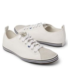 paul smith shoes white lyst paul smith musa canvas trainers in white for