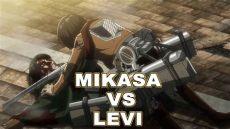 attack on titan season 3 levi vs mikasa preview attack on titan season 3 episode 12 ending levi vs mikasa teaser