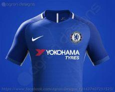 stunning nike chelsea 17 18 concept kits revealed footy headlines - Chelsea New Nike Kit