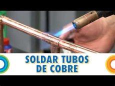 soldar tubos de cobre bricocracktv - Como Soldar Tubo De Cobre