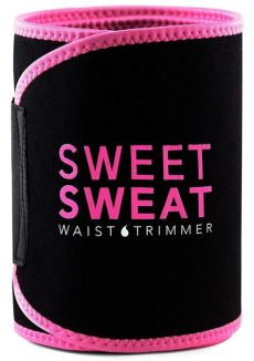 sweet sweat waist trimmer pink sweet sweat premium waist trimmer for by sports research pink m 23249010371 ebay