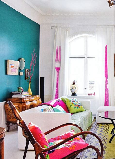 39 bright colorful living room designs interior god