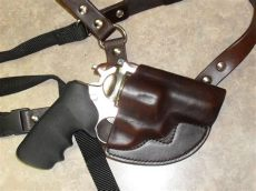 ruger alaskan chest holster pin on jr leather works