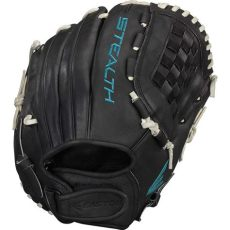 best softball outfield glove easton stealth pro 12 50 quot fastpitch pitcher outfield glove black hit a