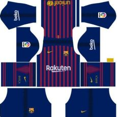 barcelona kit 1819 dls 18 kit barcelona dls 18 home uniforme casa 18 19 фк barcelona барселона футбол барселона