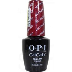 opi gel color got the blues for by opi gel color gcw52 sparkle canada one nail - Opi Got The Blues For Red Gel