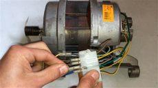 como conectar motor escobillas lavadora directamente a 220v how connect motor brush of washer - Conectar Motor Lavadora