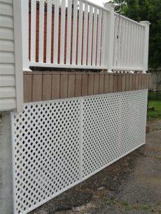 pvc deck covering pvc lattice deck covering pro construction forum be the pro