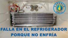 falla en el refrigerador porque no enfr 237 a hacerlo f 225 cil - Porque No Enfria El Refrigerador